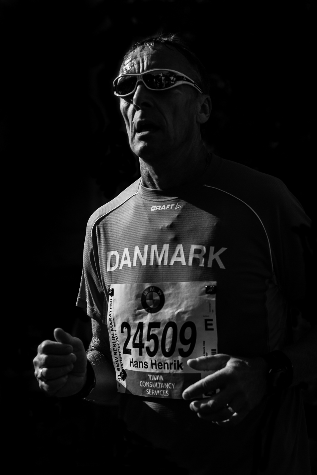 Sportfotgrafie Nürnberg Läufer BMW Berlin Marathon