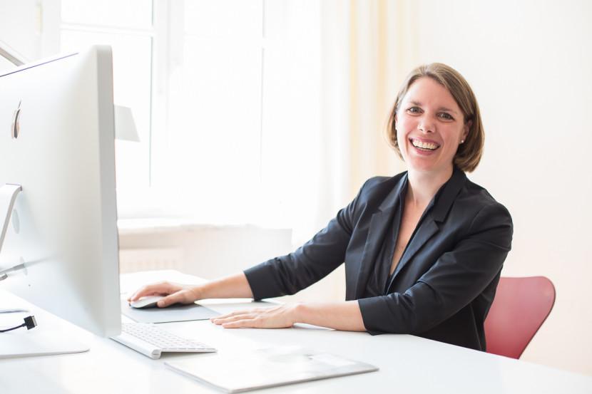 Business Portrait Fotografie Nürnberg - Sales Manager Julia