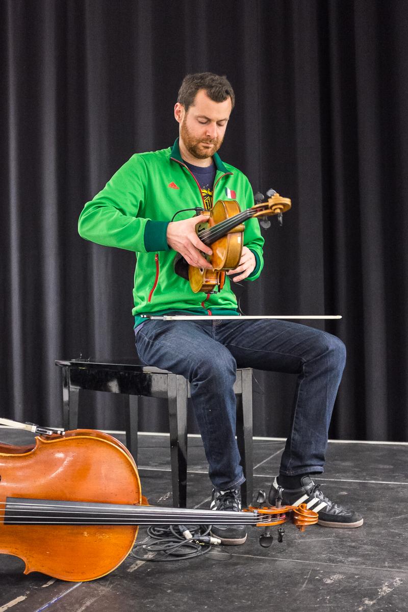 Feuerbach Quartett Werkstatt 141 Nürnberg Live Konzert Fotograf
