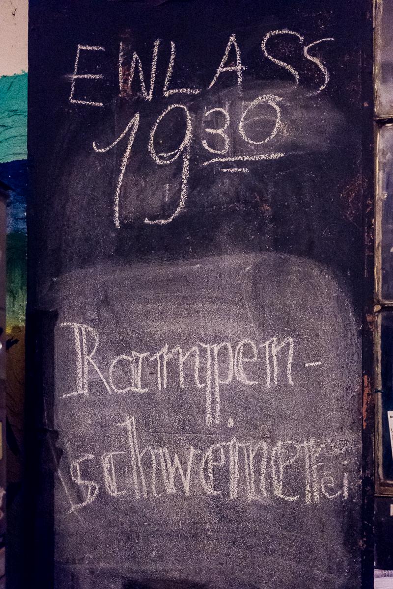 Offene Bühne Rampenschweinerei Kofferfabrik Fürth Event Fotograf Jürgen Klieber Nürnberg