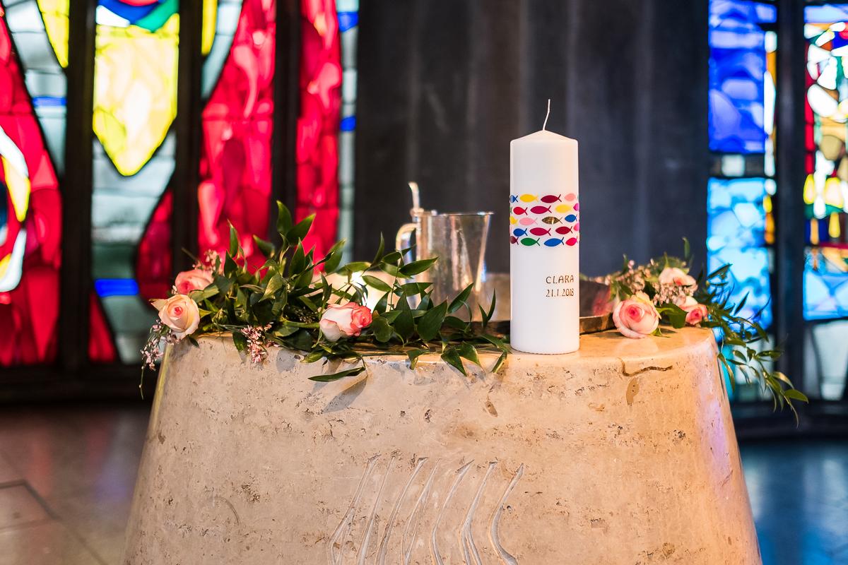 Taufe Fotograf Nürnberg St. Johannes Kirche Würzburg Clara