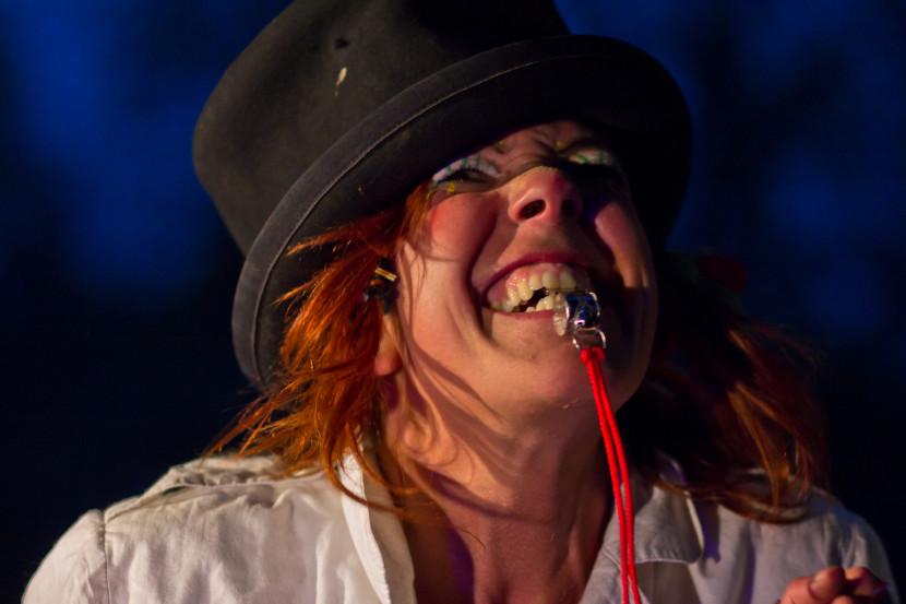 die MADAM - Sandra Ettling - Theater Rampenschweinerei Freilichtbühne Stadtpark Fürth