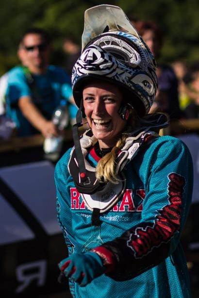 Johanna Ortner - Bayerische Downhill Meisterschaft Bikepark Osternohe