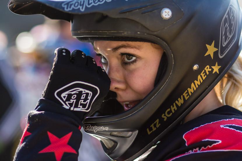 Liz Schwemmer - Bayerische Downhill Meisterschaft Bikepark Osternohe