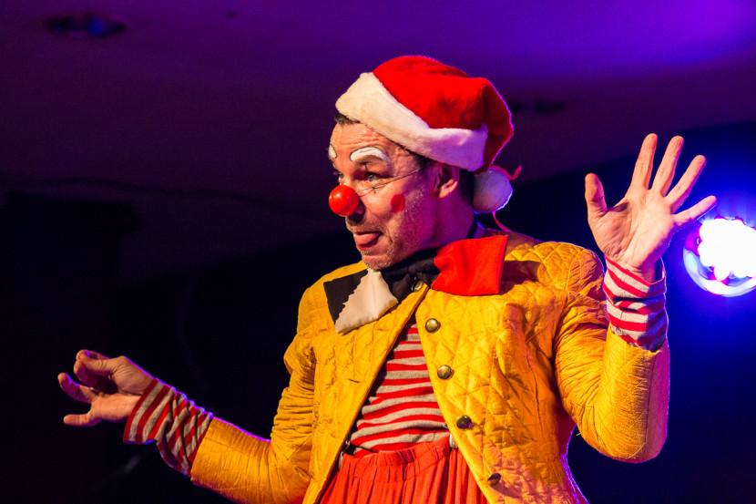 Benedikt Anzeneder - Bruno der Weihnachts Clown Rampenschweinerei Artischocken Nürnberg