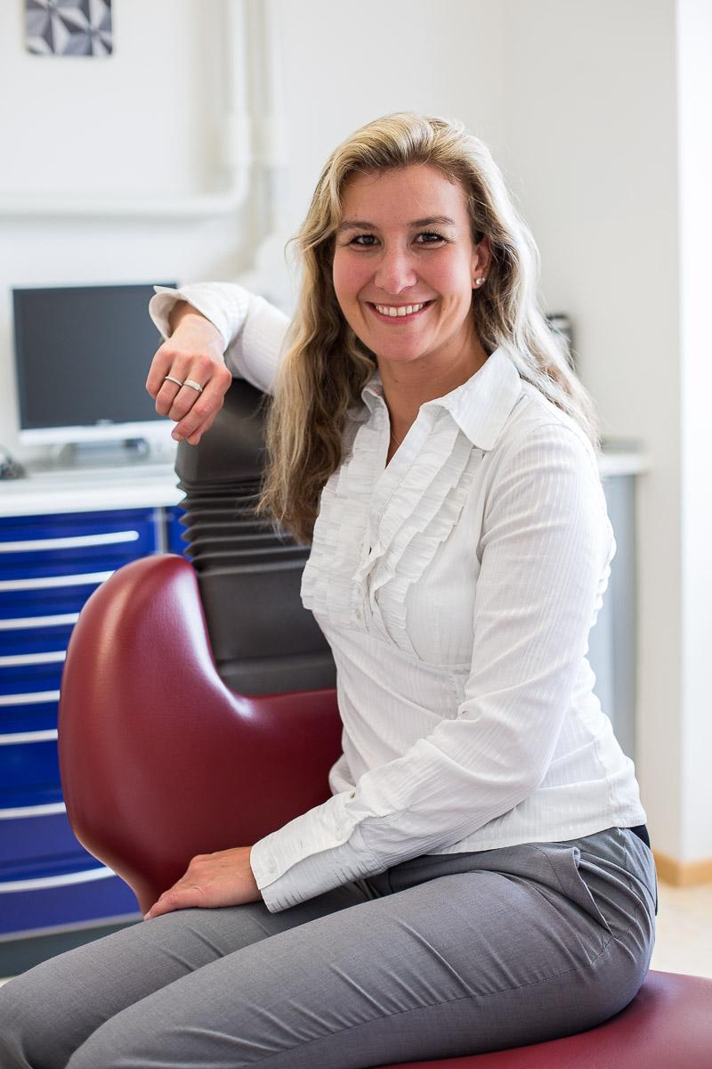 Businessportrait Dr. med. dent. Bettina Haas Praxis Nürnberg