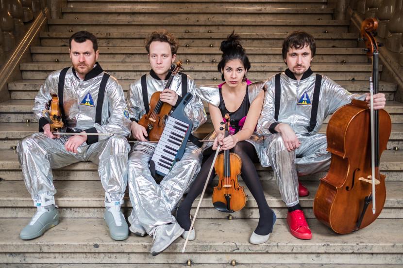 CD Booklet Bombax Feuerbach Quartett K4 Fotograf Jürgen Klieber Nürnberg